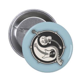 Yin Band Pinback Button