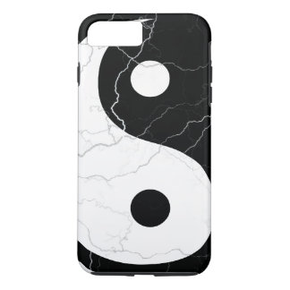 Yin blanco y negro y Yang Funda iPhone 7 Plus