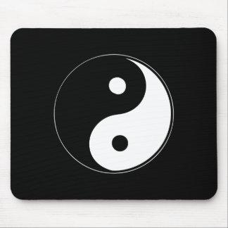 Yin clásico Yang Alfombrillas De Ratón