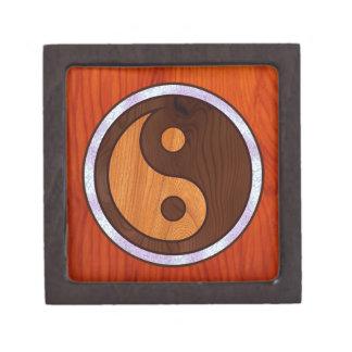 Yin embutido Yang Cajas De Recuerdo De Calidad