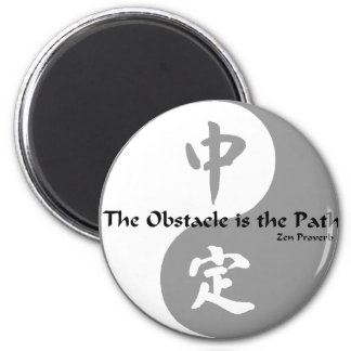 Yin Gang Template 2 Inch Round Magnet