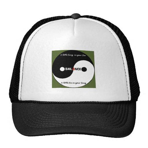 """""""Yin, gorra del camionero de Yang"""""""