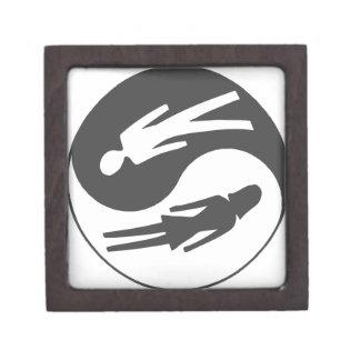 yin humano yang - varón/hembra cajas de regalo de calidad