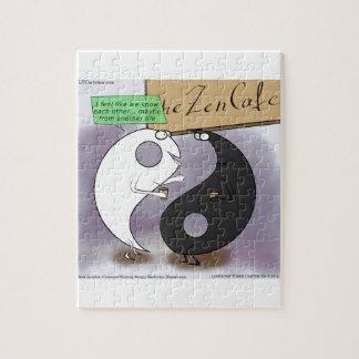 Yin Meets Yang Zen Funny Puzzle