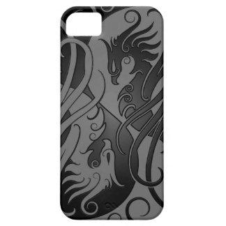 Yin oscuro Yang Phoenix iPhone 5 Funda