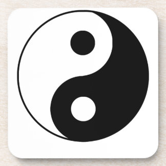 Yin tradicional Yang Posavasos