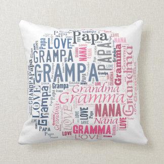 Yin y almohada de la abuela y del abuelo de Yang