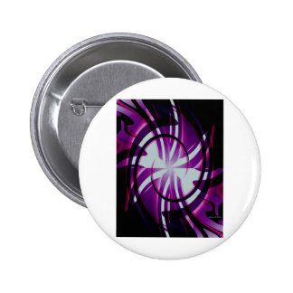 Yin y Yang Abstract.jpg Pin Redondo De 2 Pulgadas
