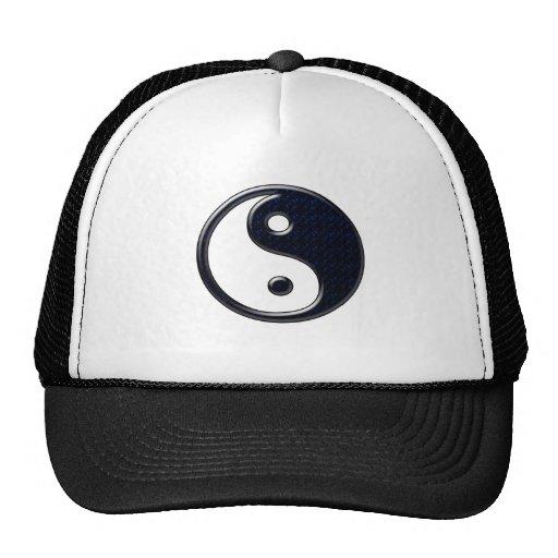 Yin y Yang (azules) Gorras