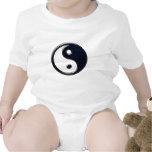 Yin y Yang (azules) Trajes De Bebé
