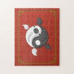Yin y Yang el rompecabezas de Koi