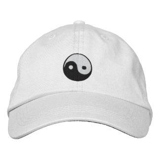 Yin y Yang Gorra Bordada