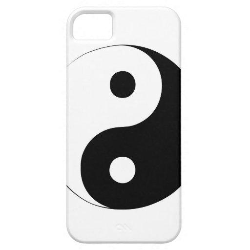 Yin y Yang iPhone 5 Carcasas