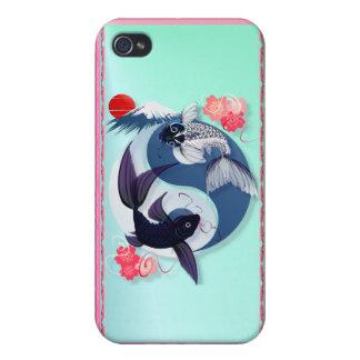 Yin y Yang Koi iPhone 4 Protector
