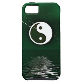 Yin y Yang Levitate el caso del iPhone 5 del ambie iPhone 5 Case-Mate Cobertura