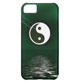 Yin y Yang Levitate el caso del iPhone 5 del ambie