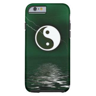 Yin y Yang Levitate el caso del iPhone 6 del Funda Resistente iPhone 6