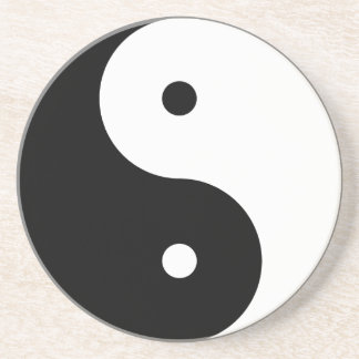 Yin y Yang Posavasos Para Bebidas