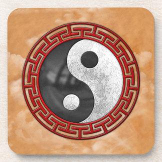 Yin y Yang Posavasos De Bebida