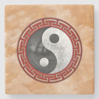 Yin y Yang Posavasos De Piedra