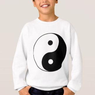 Yin y yang (yin-Yang, yin yang, 陰陽). Sudadera