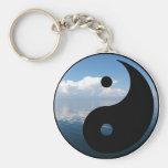yin yang-1 key chain