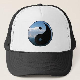 yin yang-1 trucker hat