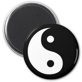 Yin Yang 2 Inch Round Magnet