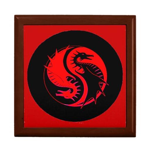 Yin Yang 3 Cajas De Recuerdo