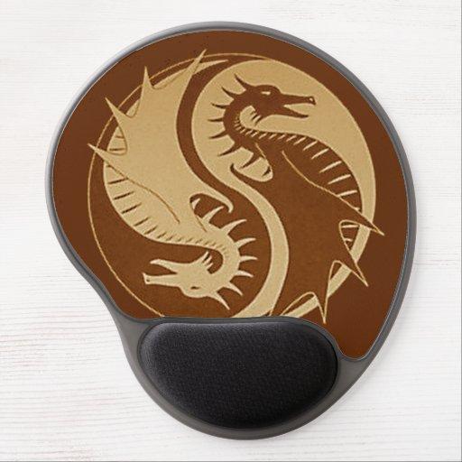 Yin Yang 5 Alfombrilla De Raton Con Gel