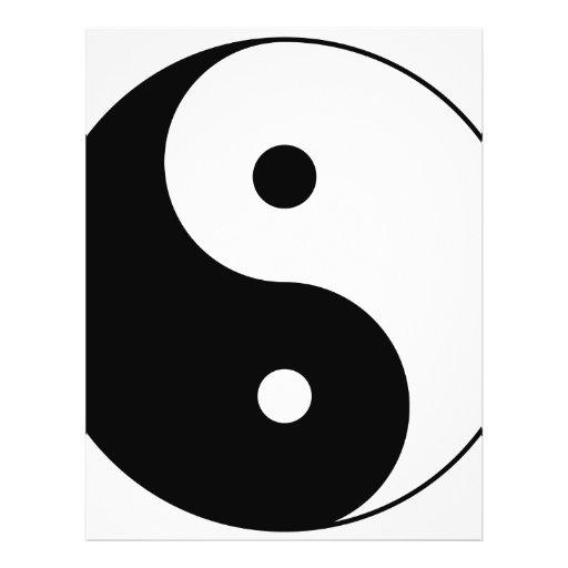 "yin yang 8.5"" x 11"" flyer"