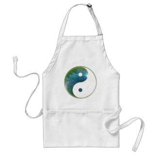 Yin Yang Abstact 1 Adult Apron