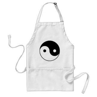 yin_yang adult apron