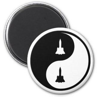 Yin Yang Aerospace Engineering Magnet