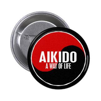Yin Yang Aikido 1 Pinback Button
