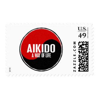 Yin Yang AIKIDO 1 Stamps