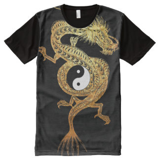 yin yang All-Over-Print T-Shirt