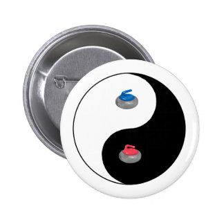 Yin Yang and Zen of Curling Button