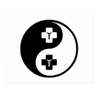 Yin Yang Anesthesiology Postcard