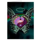 Yin Yang, Angel Wings and Heart Card (<em>$3.15</em>)