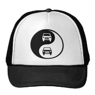 Yin Yang Auto Body Mesh Hat