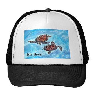 Yin Yang Baby SeaTurtles Mesh Hat