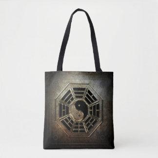 Yin Yang Bagua All-Over-Print Tote Bag