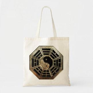 Yin Yang Bagua Budget Tote Bag