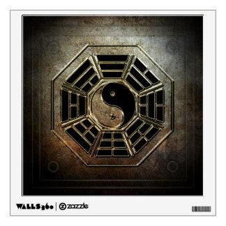 Yin Yang Bagua Wall Decal