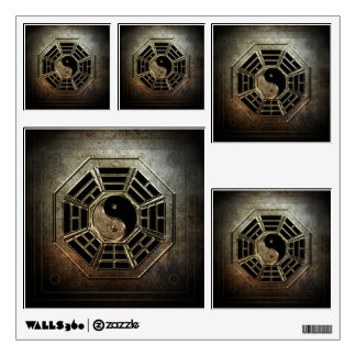 Yin Yang Bagua Wall Decals
