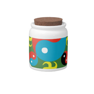 Yin Yang Balance Candy Jar