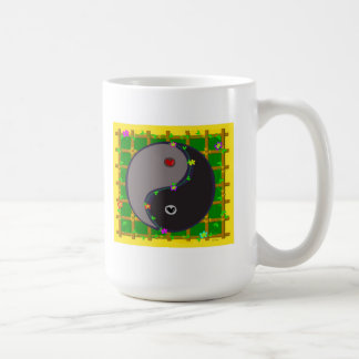 Yin Yang Balance in Nature Mug