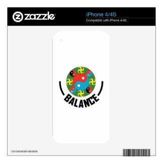 Yin Yang Balance Skin For The iPhone 4S