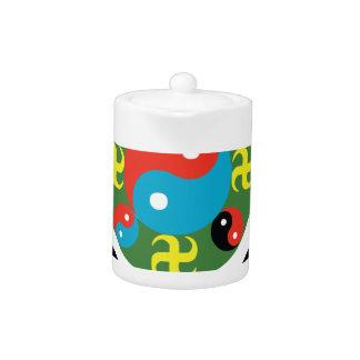 Yin Yang Balance Teapot